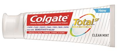 Colgate Total SF toothpaste